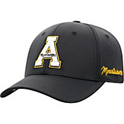 Top of the World Men's Appalachian State Mountaineers Phenom 1Fit Flex Black Hat