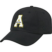 Top of the World Men's Appalachian State Mountaineers Staple Adjustable Black Hat