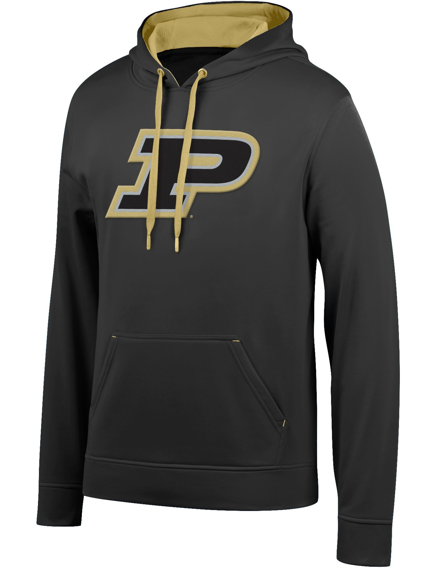 Top of the World Men's Purdue Boilermakers Foundation Poly Black Hoodie