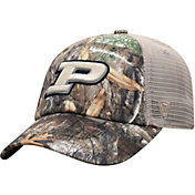 Top of the World Men's Purdue Boilermakers Camo Acorn Adjustable Hat