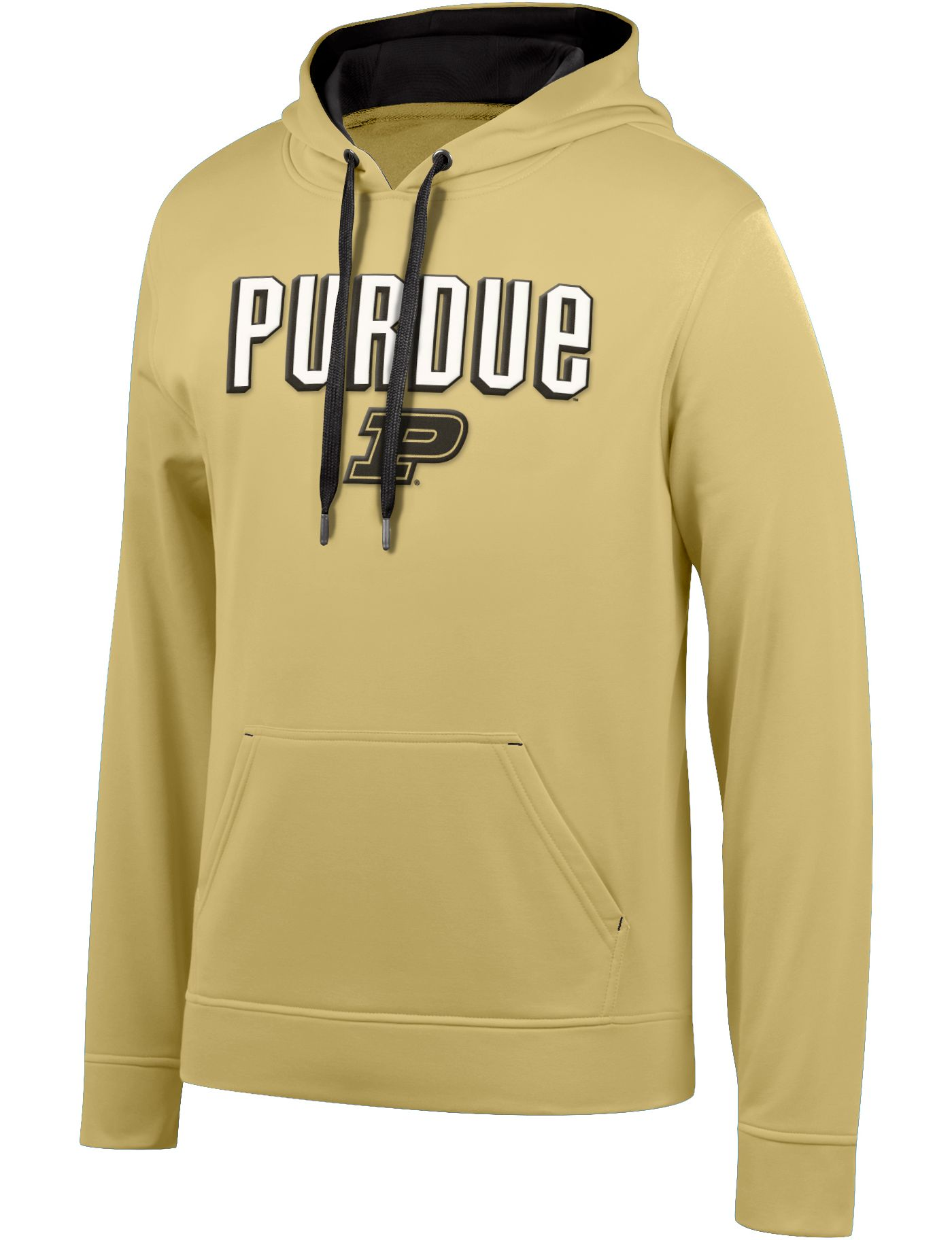 Top of the World Men's Purdue Boilermakers Old Gold Foundation Poly Hoodie