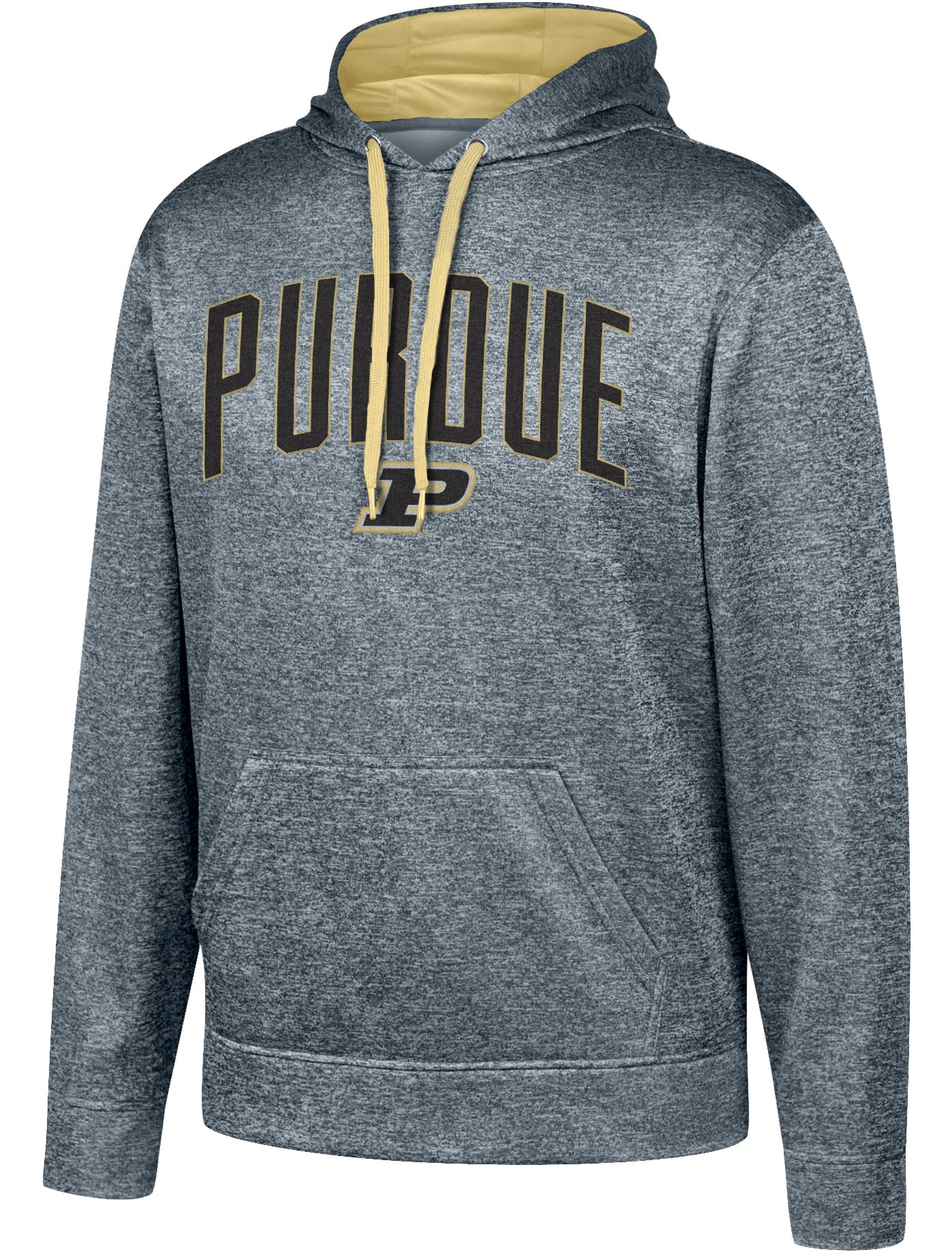 Top of the World Men's Purdue Boilermakers Grey Foundation Poly Hoodie