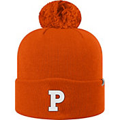 Top of the World Men's Princeton  Tigers Orange Pom Knit Beanie