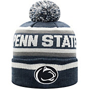 Top of the World Men's Penn State Nittany Lions Blue Buddy Cuffed Pom Knit Beanie