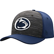 Top of the World Men's Penn State Nittany Lions Grey/Blue Pepper 1Fit Flex Hat