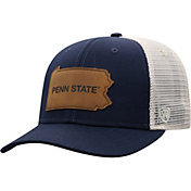 Top of the World Men's Penn State Nittany Lions Blue/Grey Precise Trucker Adjustable Hat