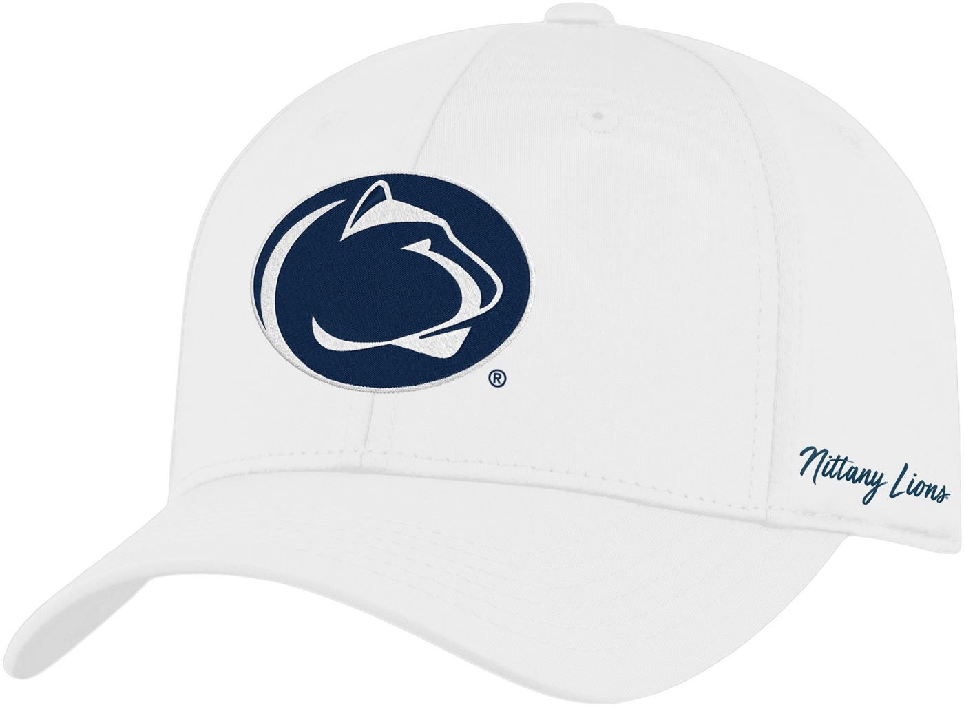 Top of the World Men's Penn State Nittany Lions Phenom 1Fit Flex White Hat