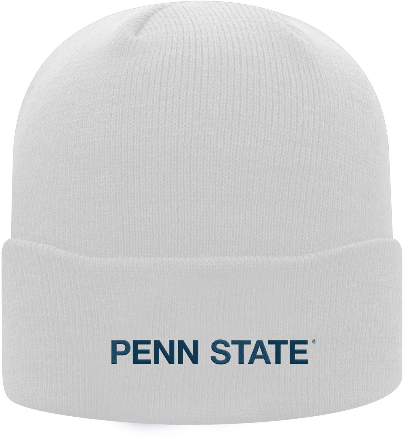 Top of the World Men's Penn State Nittany Lions Cuff Knit White Beanie