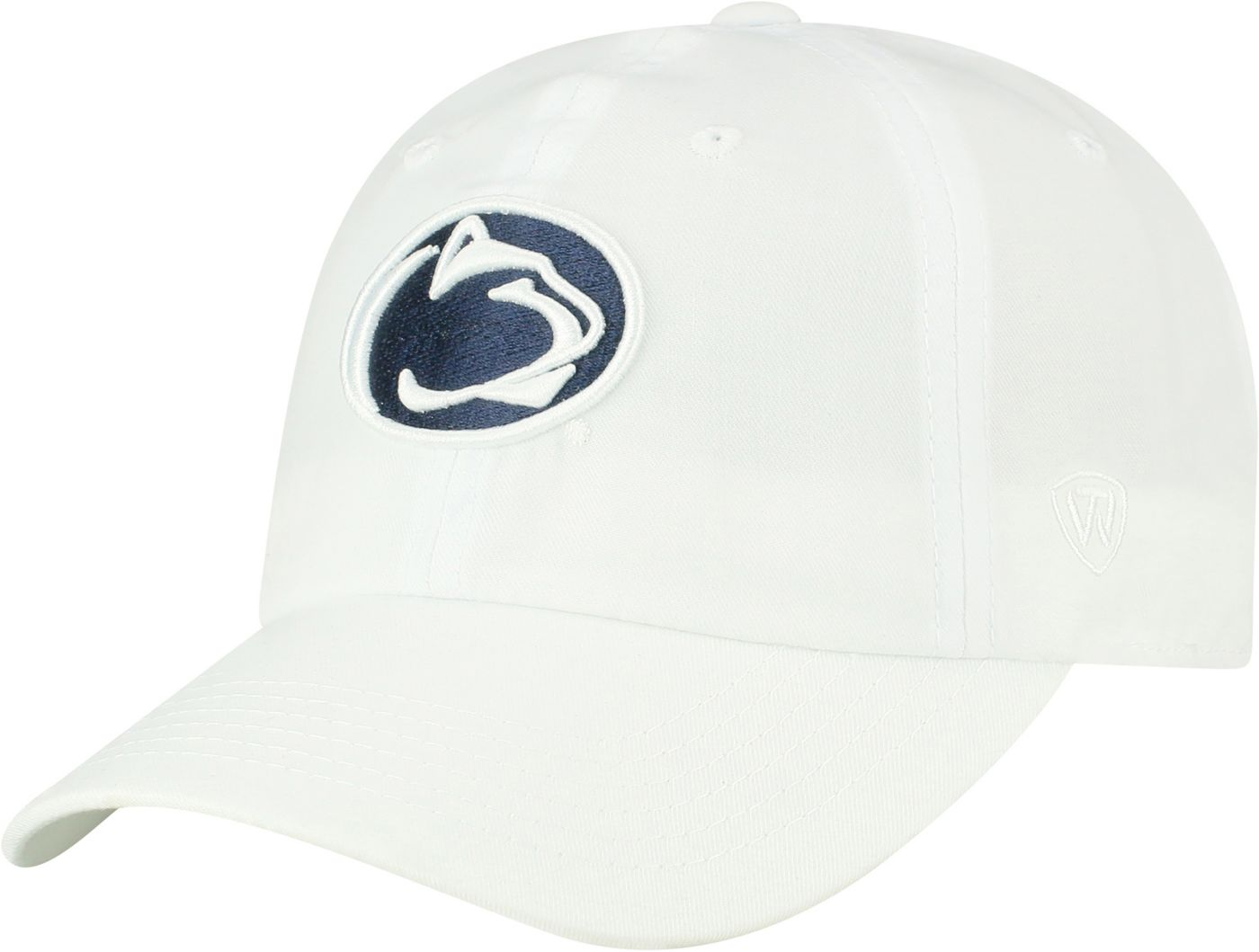 Top of the World Men's Penn State Nittany Lions Staple Adjustable White Hat