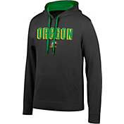 Top of the World Men's Oregon Ducks Foundation Poly Black Hoodie