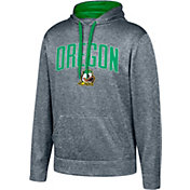 Top of the World Men's Oregon Ducks Grey Foundation Poly Hoodie