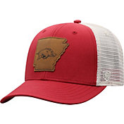Top of the World Men's Arkansas Razorbacks Cardinal/Grey Precise Trucker Adjustable Hat