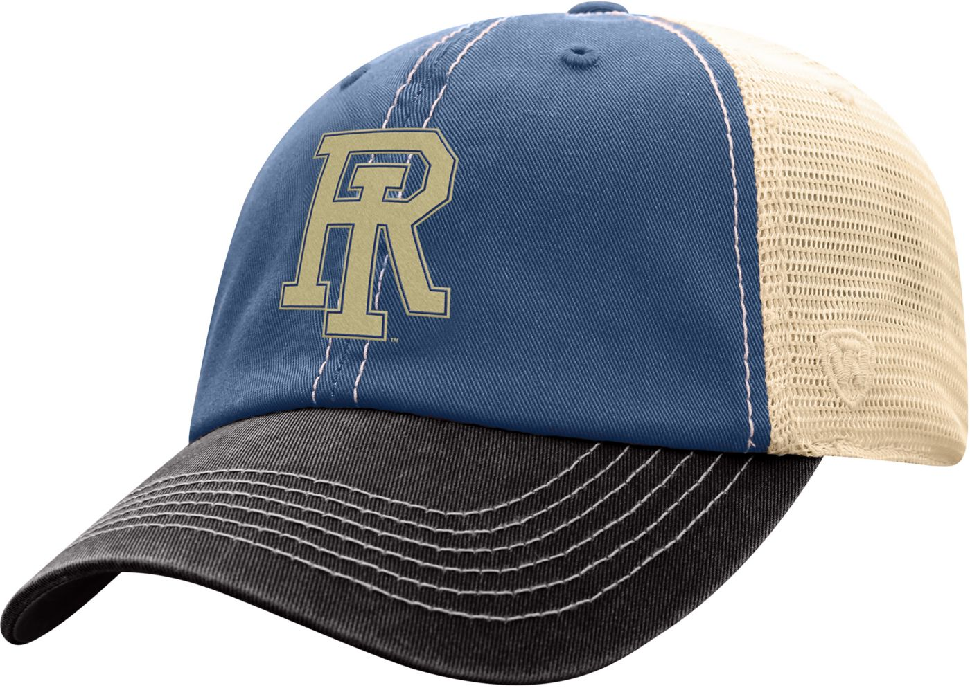 Top of the World Men's Rhode Island Rams Blue/White Off Road Adjustable Hat