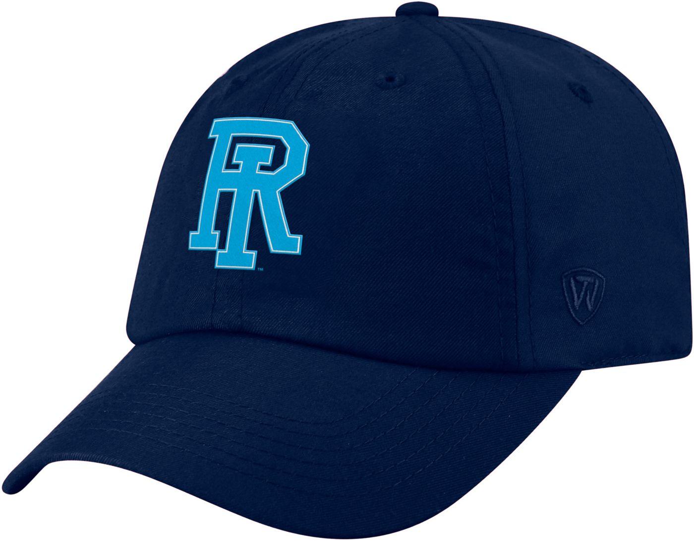 Top of the World Men's Rhode Island Rams Navy Staple Adjustable Hat