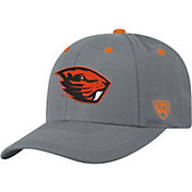 Top of the World Men's Oregon State Beavers Grey Triple Threat Adjustable Hat