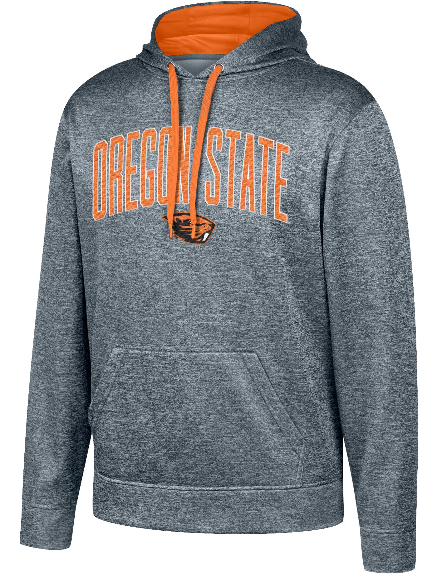 Top of the World Men's Oregon State Beavers Grey Foundation Poly Hoodie