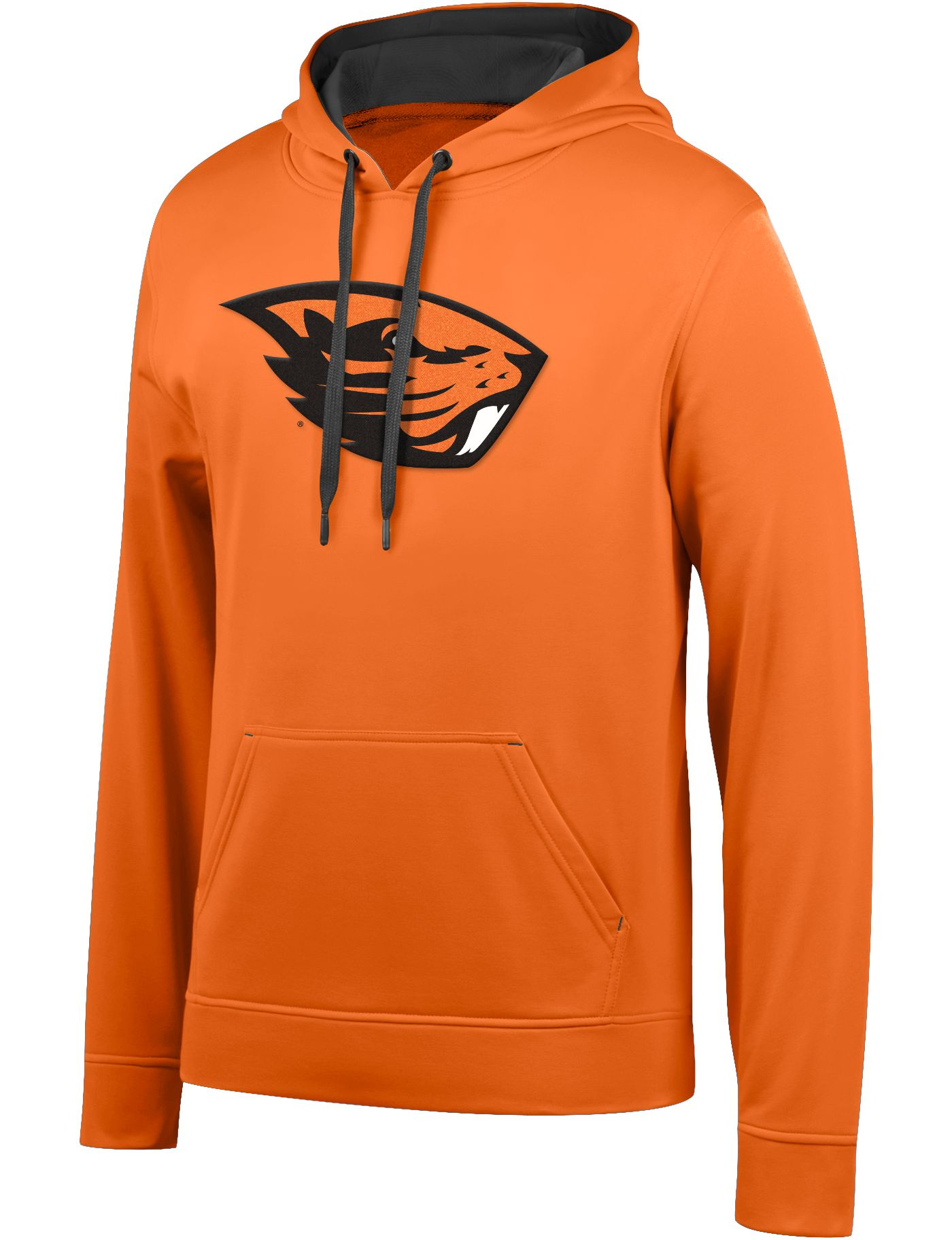 Top of the World Men's Oregon State Beavers Orange Foundation Poly Hoodie