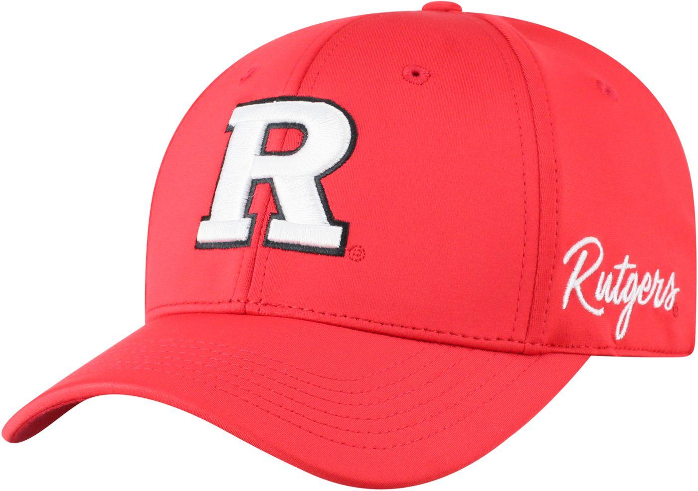 Top of the World Men's Rutgers Scarlet Knights Scarlet Phenom 1Fit Flex Hat