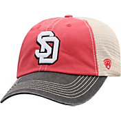Top of the World Men's South Dakota Coyotes Red/White Off Road Adjustable Hat