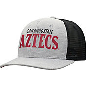 Top of the World Men's San Diego State Aztecs Grey/Black Cutter Adjustable Hat