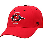 Top of the World Men's San Diego State Aztecs Scarlet Triple Threat Adjustable Hat