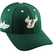 hot sale online 4c00d 8426e Product Image · Top of the World Men s South Florida Bulls Green Triple  Threat Adjustable Hat