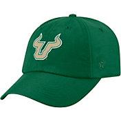 Top of the World Men's South Florida Bulls Green Staple Adjustable Hat