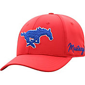 Top of the World Men's Southern Methodist Mustangs Red Phenom 1Fit Flex Hat