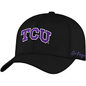 Top of the World Men's TCU Horned Frogs Phenom 1Fit Flex Black Hat
