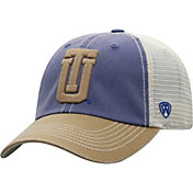 Top of the World Men's Tulsa Golden Hurricane Blue/White Off Road Adjustable Hat