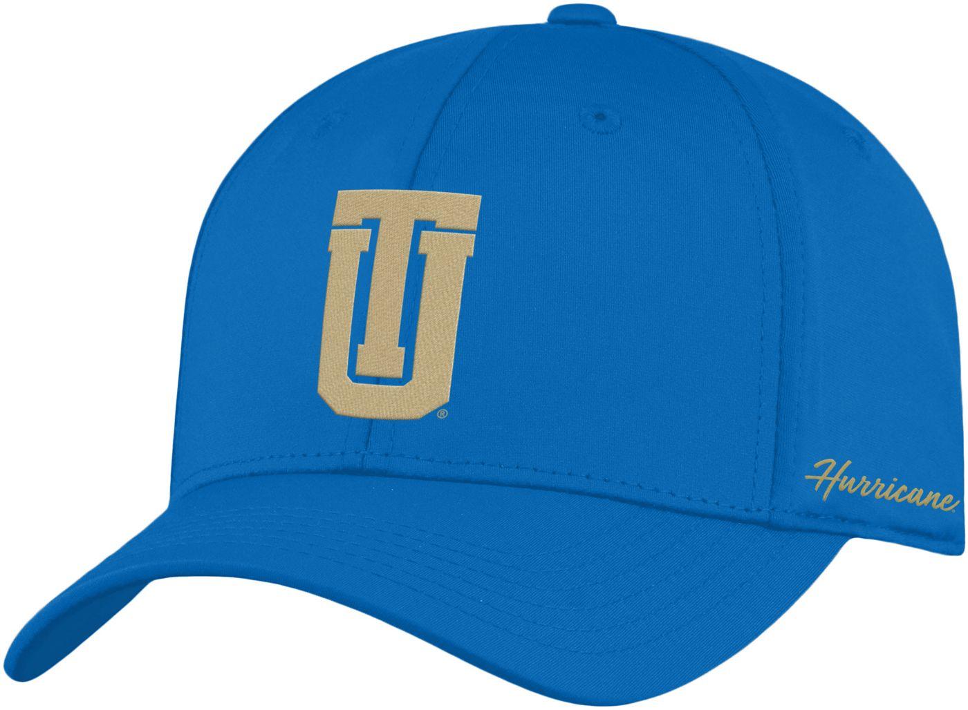 Top of the World Men's Tulsa Golden Hurricane Blue Phenom 1Fit Flex Hat