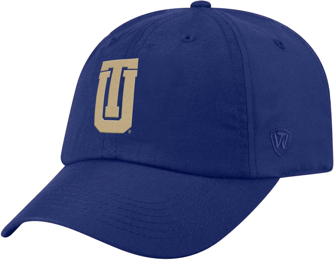 Top of the World Men's Tulsa Golden Hurricane Blue Staple Adjustable Hat