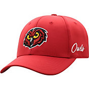 Top of the World Men's Temple Owls Cherry Phenom 1Fit Flex Hat