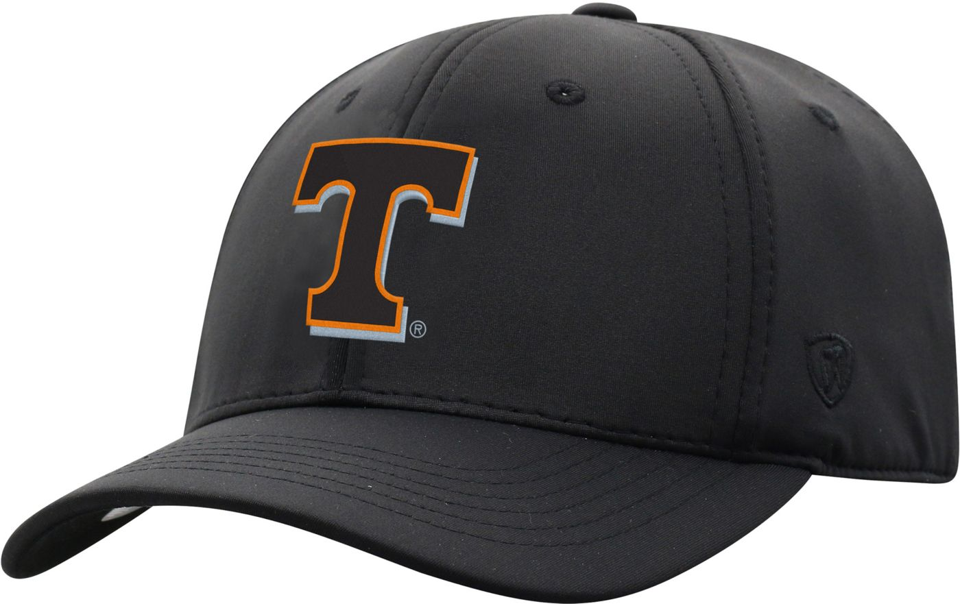 Top of the World Men's Tennessee Volunteers Phenom-Bob 1Fit Flex Black Hat
