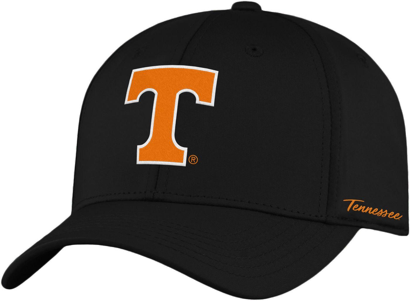 Top of the World Men's Tennessee Volunteers Phenom 1Fit Flex Black Hat