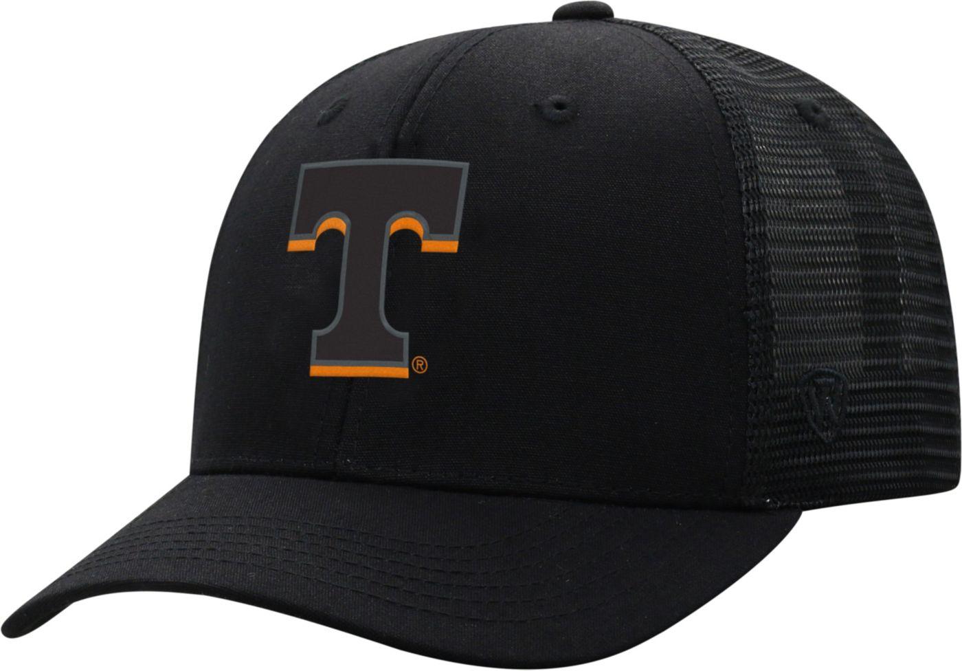 Top of the World Men's Tennessee Volunteers ZigZag Trucker Adjustable Black Hat