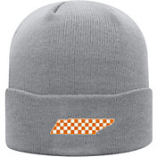 Top of the World Men's Tennessee Volunteers Grey Cuff Knit Beanie