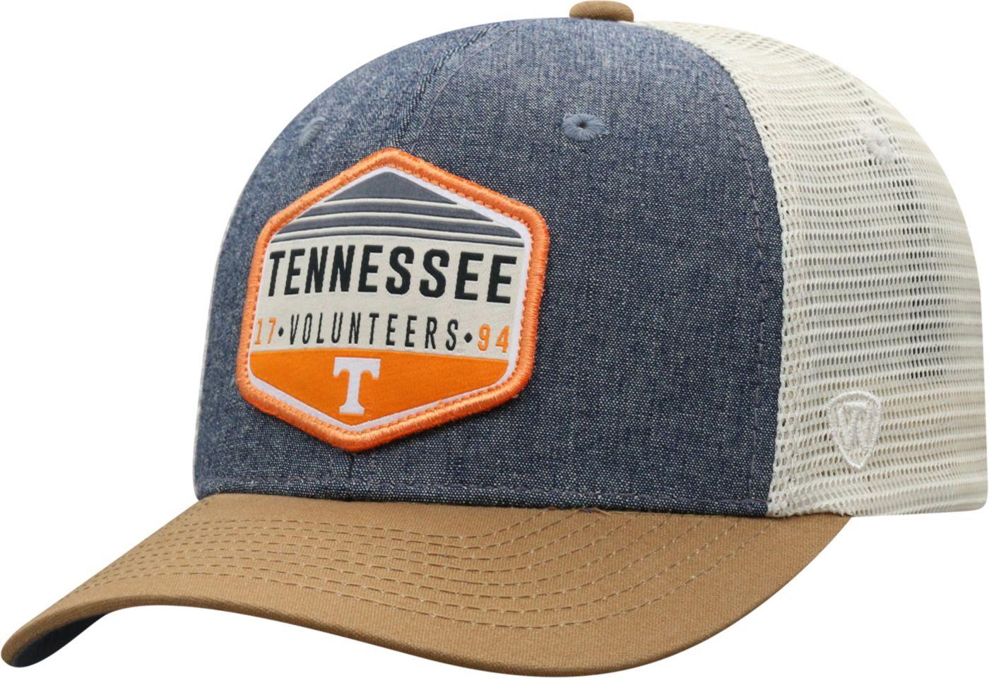 Top of the World Men's Tennessee Volunteers Grey/Brown/White Wild Adjustable Hat