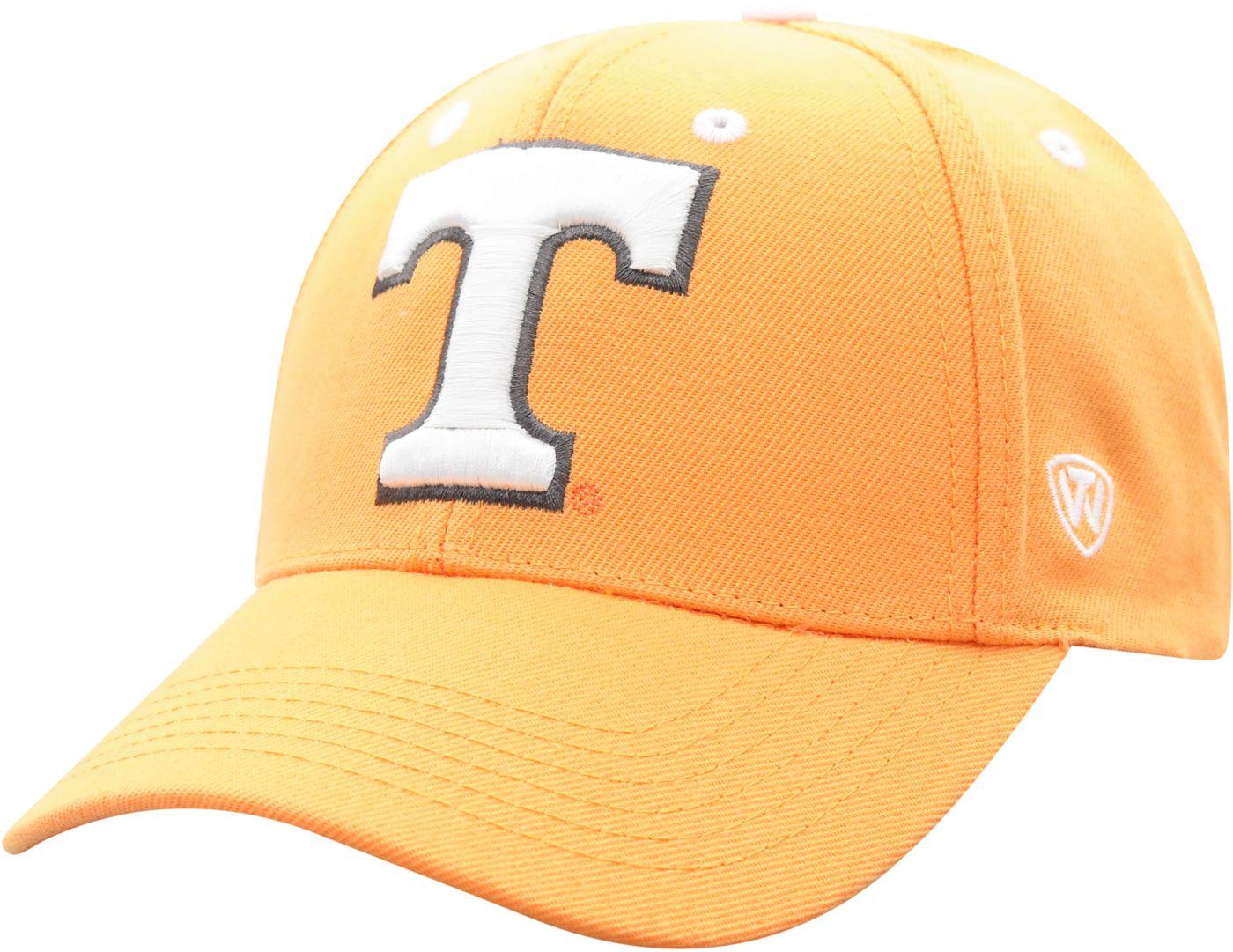 Top of the World Men's Tennessee Volunteers Tennessee Orange Triple Threat Adjustable Hat