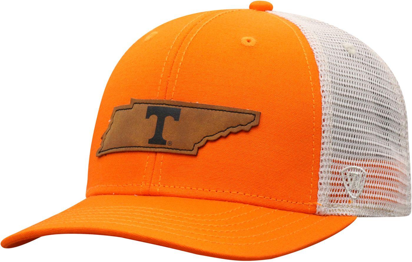 Top of the World Men's Tennessee Volunteers Tennessee Orange/Grey Precise Trucker Adjustable Hat