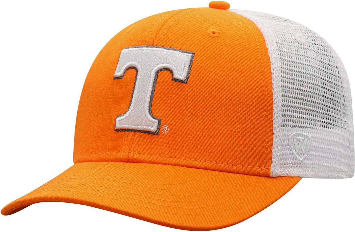 Top of the World Men's Tennessee Volunteers Tennessee Orange/White Trucker Adjustable Hat