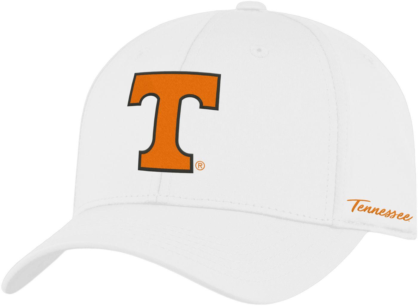Top of the World Men's Tennessee Volunteers Phenom 1Fit Flex White Hat