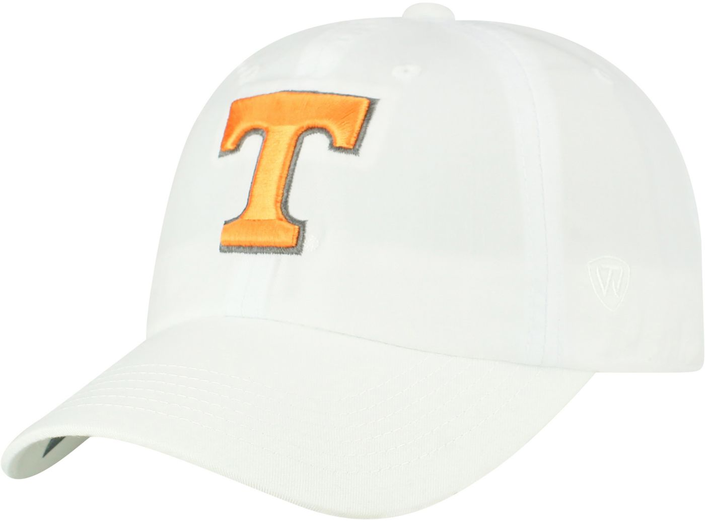 Top of the World Men's Tennessee Volunteers Staple Adjustable White Hat