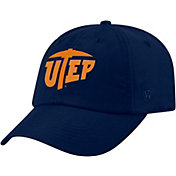 Top of the World Men's UTEP Miners Navy Staple Adjustable Hat