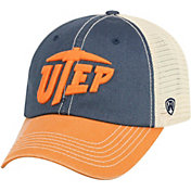 Top of the World Men's UTEP Miners Blue/White Off Road Adjustable Hat