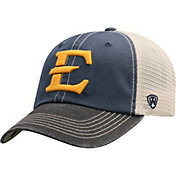 Top of the World Men's East Tennessee State Buccaneers Navy/White Off Road Adjustable Hat