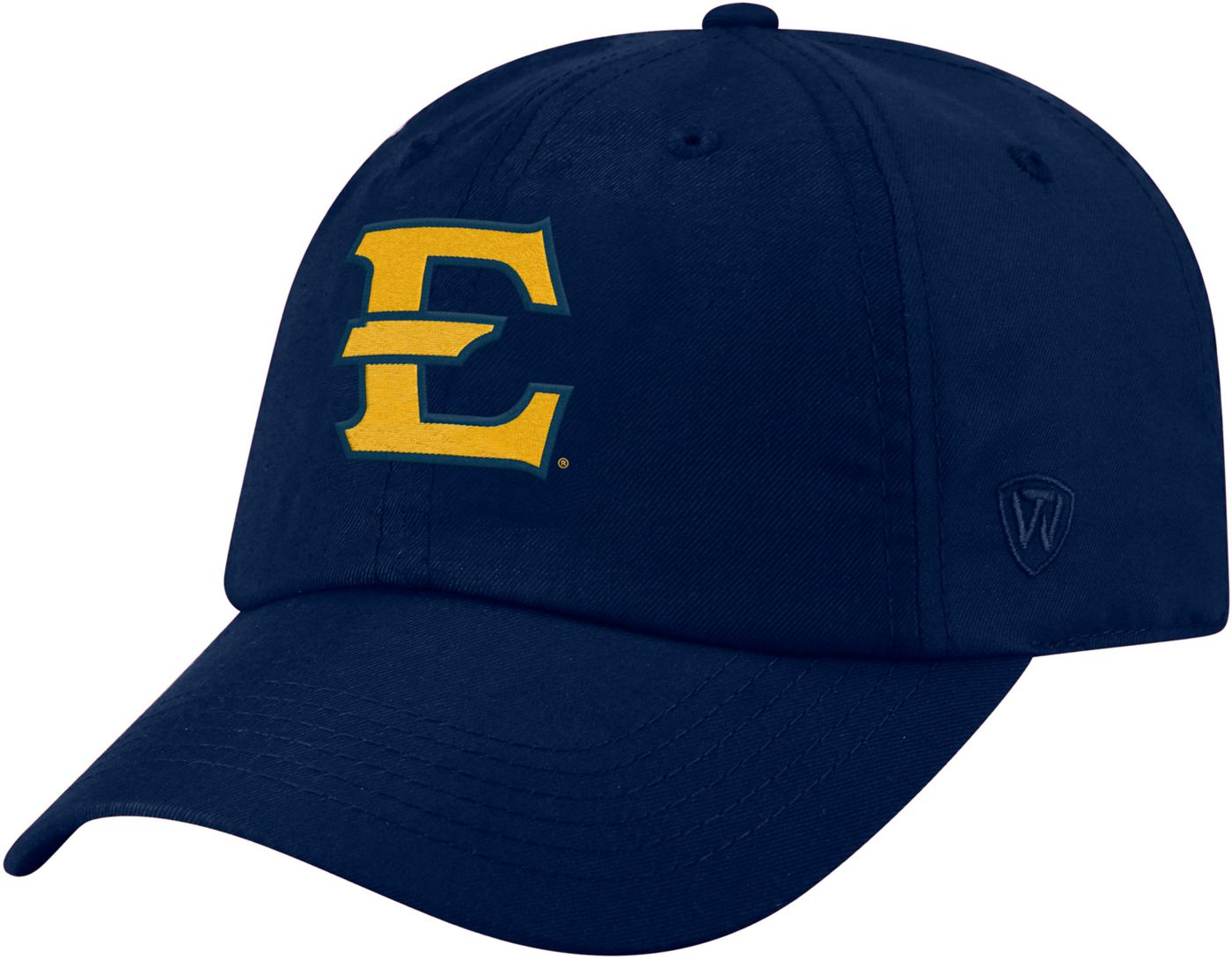 Top of the World Men's East Tennessee State Buccaneers Navy Staple Adjustable Hat