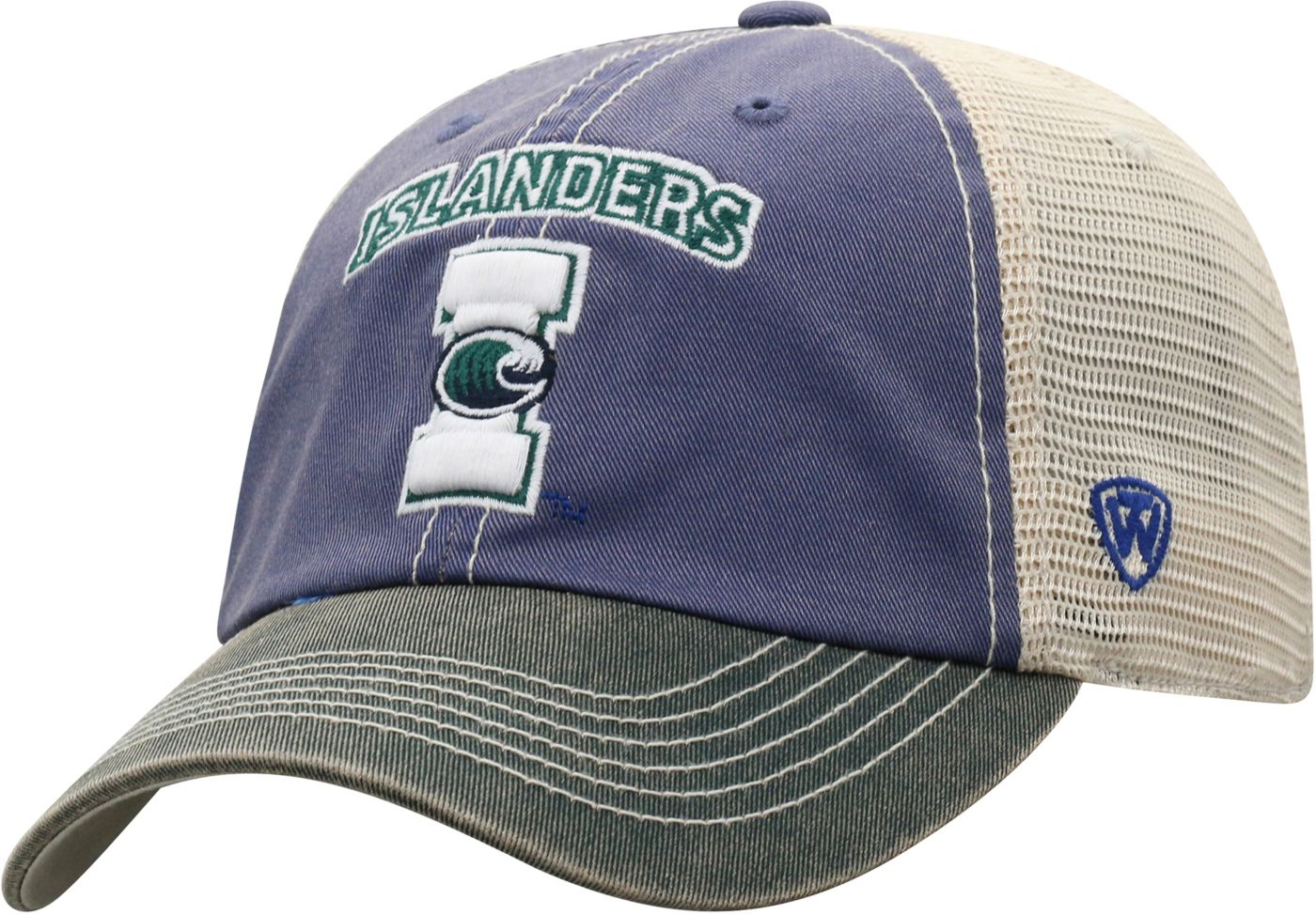 Top of the World Men's Texas A&M -Corpus Christi Islanders Blue/White Off Road Adjustable Hat