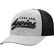 Top of the World Men's Texas A&M Aggies Grey/Black Cutter Adjustable Hat