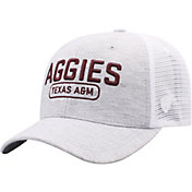 Top of the World Men's Texas A&M Aggies Grey Notch Adjustable Snapback Hat